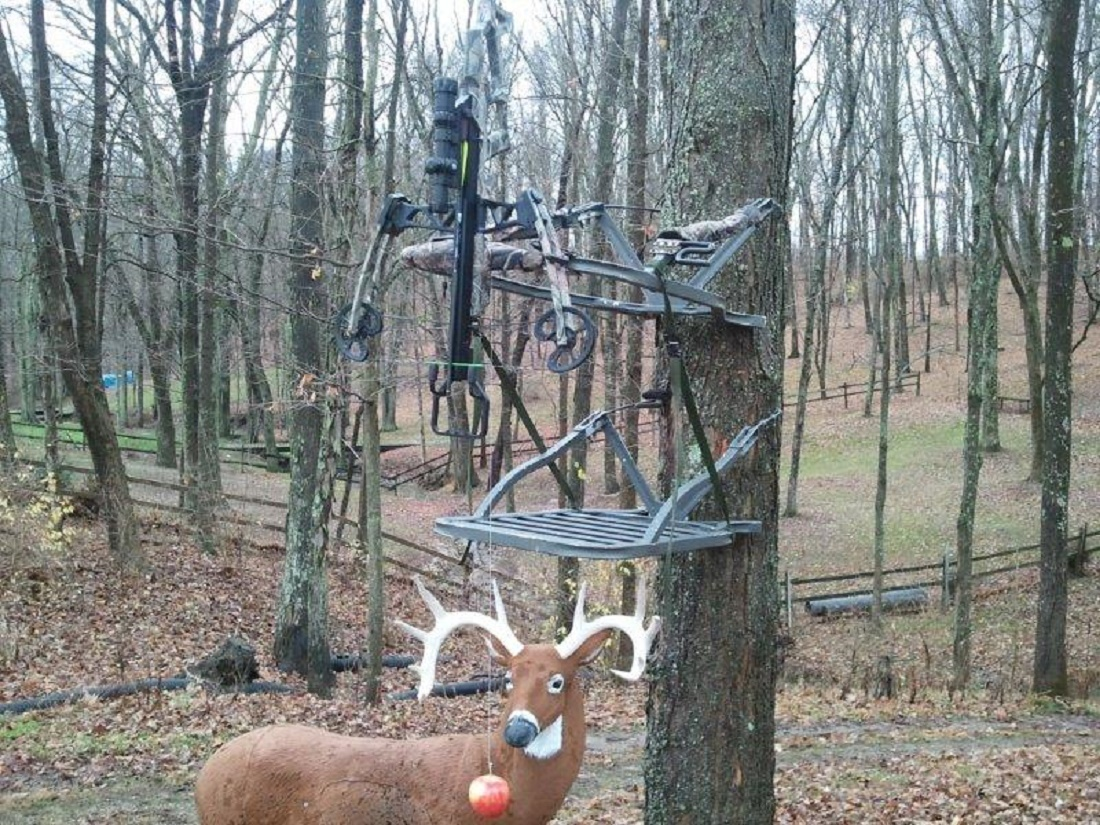 Third Hand Tree Stand Bow Rest